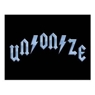 UN/ON/ZE POSTCARD