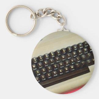 Un ordenador personal de 8 bits del comodoro 64 llaveros personalizados