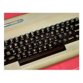Un ordenador personal de 8 bits del comodoro 64 postal
