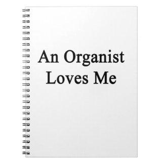 Un organista me ama libretas