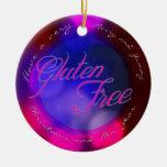 Un ornamento libre del gluten - para el árbol de ornato