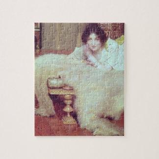 Un oyente: La manta del oso, 1899 (aceite en el pa Puzzles Con Fotos