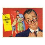 Un padre del vintage postal