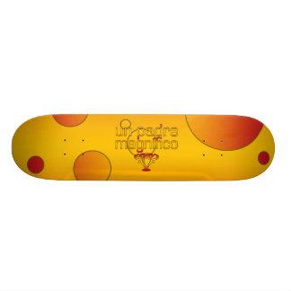 Un Padre Magnífico Spain Flag Colors Pop Art Skateboard Decks
