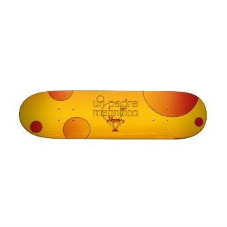 Un Padre Magnífico Spain Flag Colors Pop Art Skate Board Decks