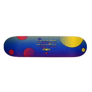 Un Padre Magnífico Venezuela Flag Colors Pop Art Skateboards