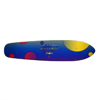 Un Padre Magnífico Venezuela Flag Colors Pop Art Custom Skateboard