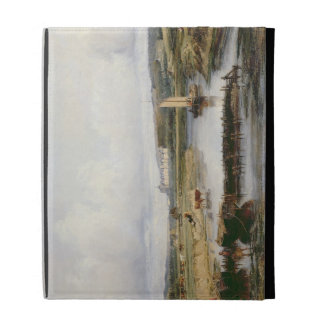 Un paisaje extenso del río con vistas al Ch