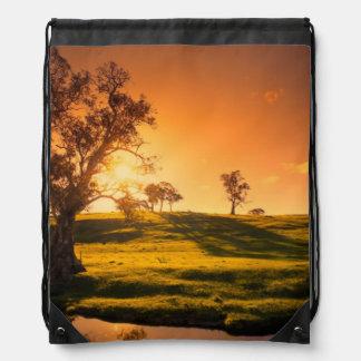 Un paisaje rural de las colinas de Adelaide Mochilas