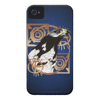 Un pájaro del caso de Serengeti Blackberry iPhone 4 Cárcasa