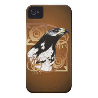 Un pájaro del caso de Serengeti Blackberry Case-Mate iPhone 4 Protectores