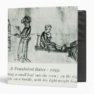 """Un panadero fraudulento, 1293 carpeta 1 1/2"""""""