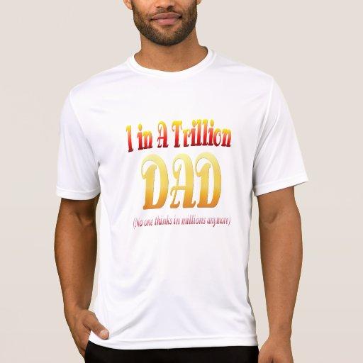 Un papá en el camisetas un trillón