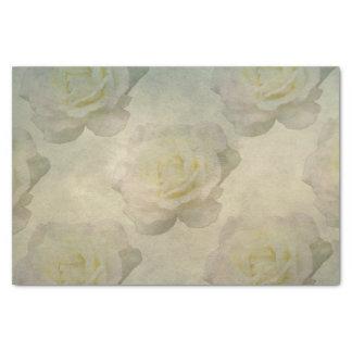 Un papel seda romántico subió vintage