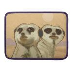 Un par de Meerkats Funda Para Macbook Pro