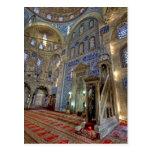 Un paraíso de la teja; Mezquita del bajá de Postal
