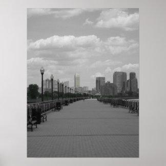 Un paseo a New York City capítulo la foto Posters
