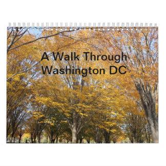 Un paseo a través del calendario del Washington DC