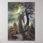 Un paseo brumoso en Halloween Impresiones
