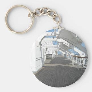 Un paseo con historia - Queen Mary Llavero Redondo Tipo Pin