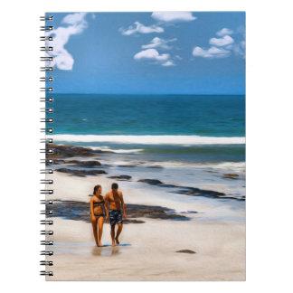 Un paseo de los amantes spiral notebooks