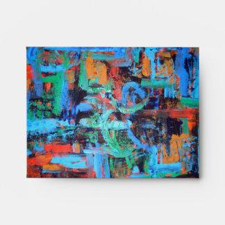 Un paseo en el bosque - sobre del arte abstracto
