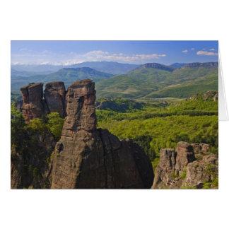 Un paseo en el castillo de Belogradchik arruina 2 Tarjeta De Felicitación