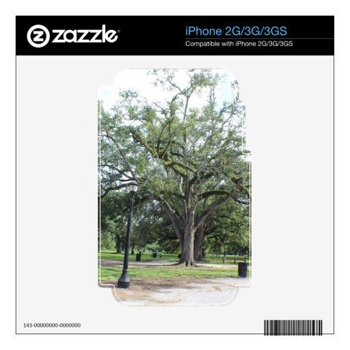 Un paseo en el parque calcomanía para el iPhone 2G