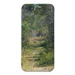 Un paseo en las maderas iPhone 5 funda