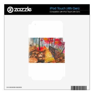 Un paseo en las maderas iPod touch 4G skins