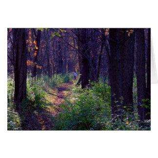 Un paseo en los humedales #4 de Estel Tarjeta