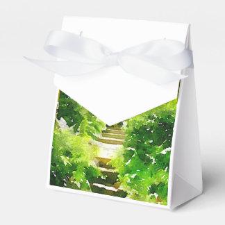 Un paseo entre los helechos cajas para regalos de boda
