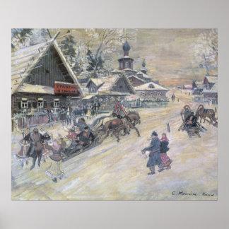 Un paseo festivo, Rusia Póster