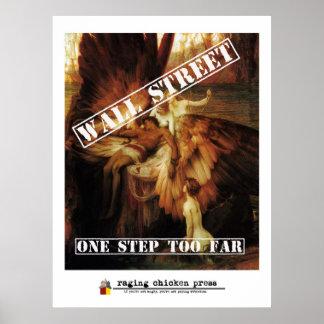 Un paso demasiado el lejos | Wall Street Ícaro con Posters