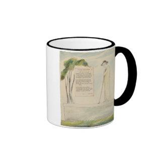 Un pastor que lee el epitafio, de la elegía escrit tazas de café