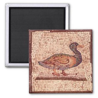 Un pato, detalle de Orfeo que encanta los animales Imán Cuadrado