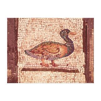 Un pato, detalle de Orfeo que encanta los animales Impresiones En Lienzo Estiradas