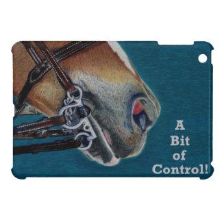 Un pedazo caso del iPad del freno del caballo del