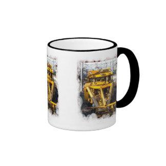 Un pedazo de la ayuda de otra máquina taza de café