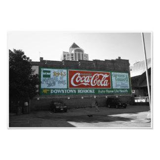 Un pedazo de la historia en Roanoke, VA Impresion Fotografica