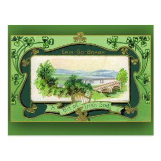 Un pedazo de las tarjetas del día de St Patrick ir Postal