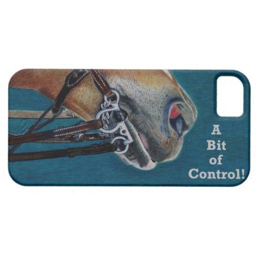 ¡Un pedazo del control! Caso del iPhone 5 del Funda Para iPhone 5 Barely There