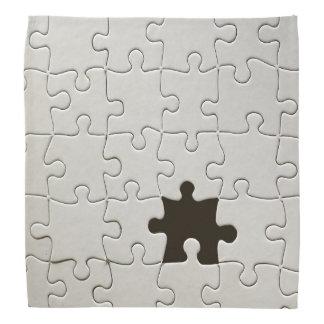 Un pedazo que falta del rompecabezas bandanas