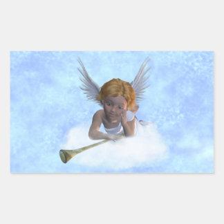 Un pegatina cherubic dulce del ángel