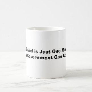 Un penique ahorrado es apenas un más centavo el taza clásica