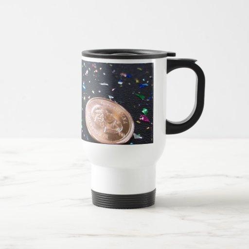 Un penique ahorrado es un penique celebrado taza