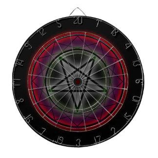 Un pentagram que brilla intensamente