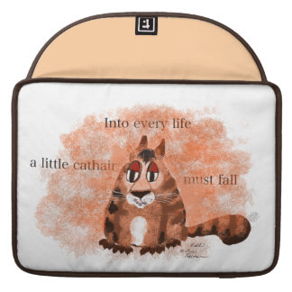 Un pequeño Cathair Funda Macbook Pro
