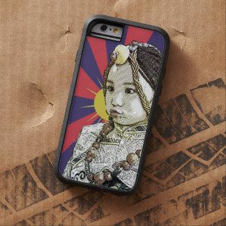Un pequeño iPhone tibetano   del chica 6 casos Funda Para iPhone 6 Tough Xtreme