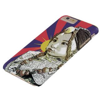Un pequeño iPhone tibetano   del chica 6 casos más Funda De iPhone 6 Plus Barely There